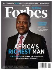 Forbes Magazines - Aliko Dangote