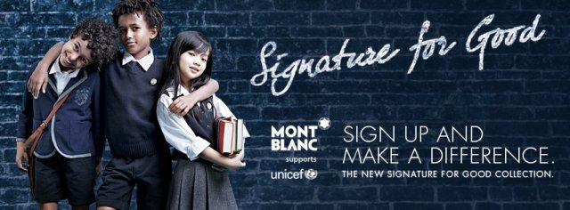 Montblanc Signiture for Good