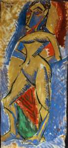 Picasso Standing Nude